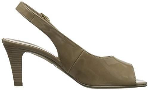 Gabor Rumble - Sandalias De Vestir para mujer Beige Patent