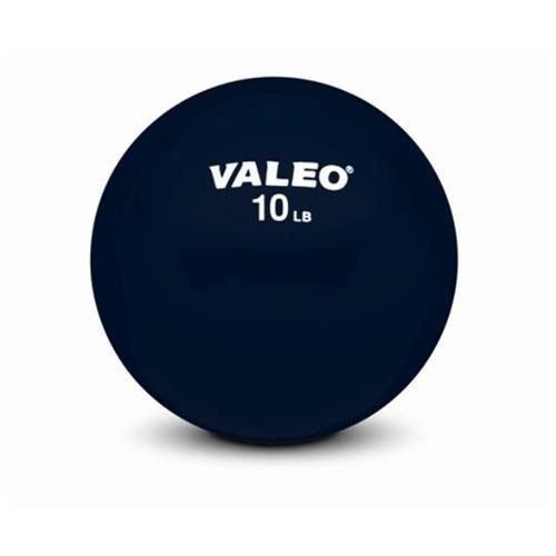 Valeo WFB6 10-Pound Weighted Fitness Ball With Soft Vinyl Co