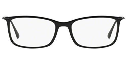 Ray-Ban Men's RX7031 Eyeglasses Shiny Black 55mm