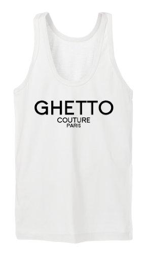 Ghetto Couture Tanktop Girls Blanc