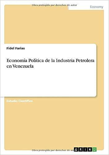Descargas gratuitas de ebooks y revistas Economía Política de la Industria Petrolera en Venezuela 3640869532 in Spanish