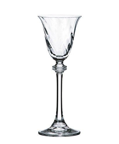 Bohemia Crystal Cordial Glasses,