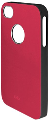 KSIX B0917FTP18B Solid TPU Case für Apple iPhone 4S rot