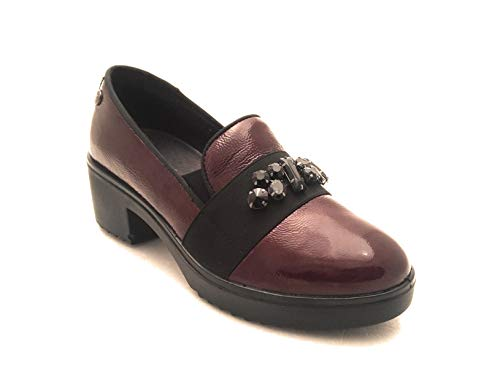 Bordeaux Brown Court Women's Enval Shoes xqRwvqp