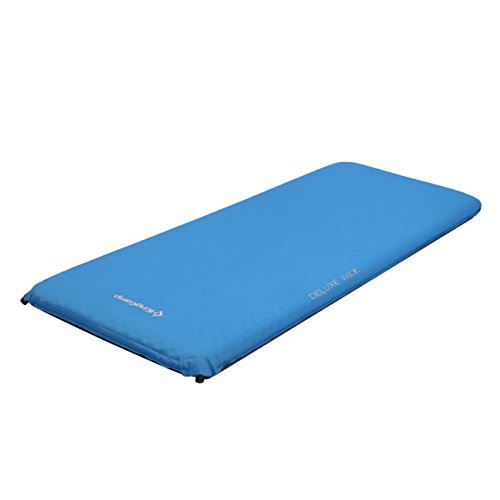 KingCamp DELUXE WIDE Self-Inflating Camp Pad, 4 inches Thick (4 Inch Foam Mattress Pad)