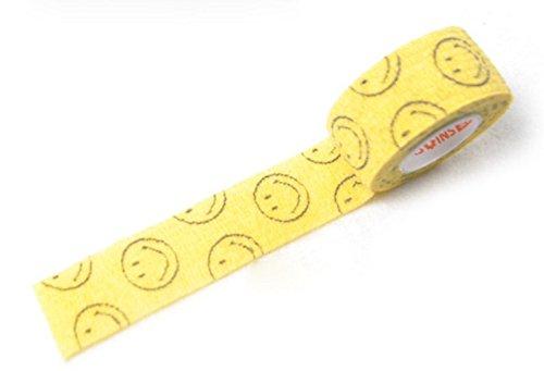 Arpoador 2.5cm * 4.5m color Printing autoadesiva benda elastica fascia per braccio del polso per piedi * 1PC, Color1, 450*2.5*0.1cm