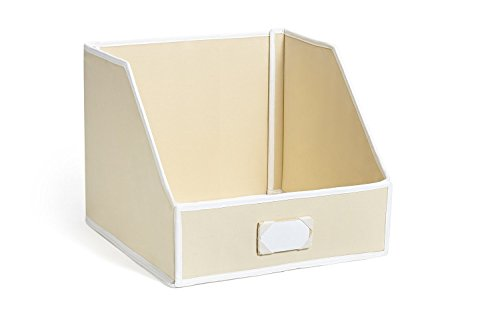 G U S Ivory Linen Closet Storage Organize Bins For