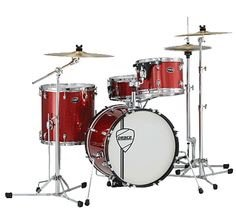Peace X4 Series - 4 Piece Drum Set with Hardware Pack (New Mexico Sparkle)