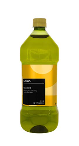 Amazon Brand - Solimo Olive Oil, Mediterranean Blend, 51 Fl. Oz