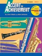 Alfred Bb Cornet - Accent on Achievement - Bb Trumpet - Book 1 - Bk+CD