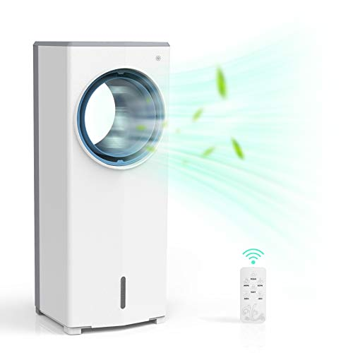 SUNDAY LIVING 2-in-1 Evaporative Air Cooler, Tower Fan & Air Cooler Fan with Cooling & Humidification Function…