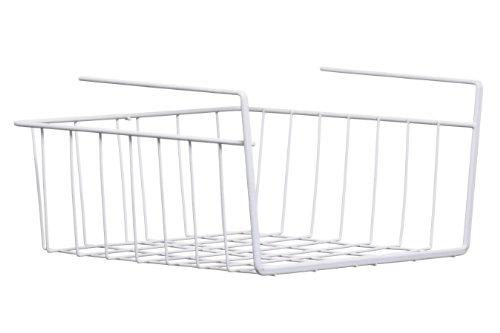 Premier Housewares Drahtkorb für Regal 29x26x15 cm weiß: Amazon.de ...