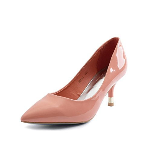 Spitze Dress Pump Jane Kätzchen HooH Einfache Mary Pink Frauen HqEESwO