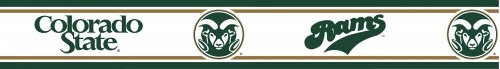 NCAA Colorado State Rams Prepasted Wall Border Roll by NCAA