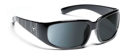 7 Eye Duke Glossy Black SharpView Polarized Gray PC 800553