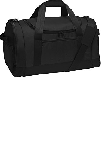 port-authority-luggage-and-bags-voyager-sports-duffel-osfa-black