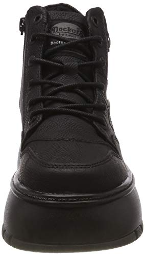 Dockers Mujer Altas schwarz Para 43dr202 Zapatillas Eu By 39 Negro Gerli 100 OqrfO7