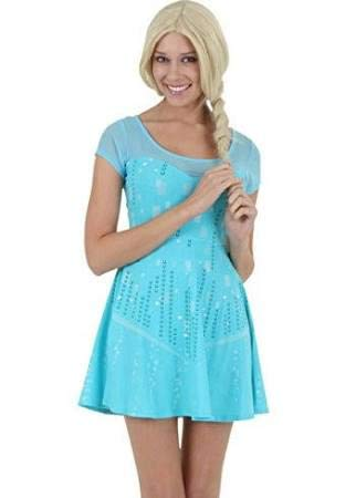 Elsa Dress Frozen Adult - Womens I Am Elsa Frozen Dress