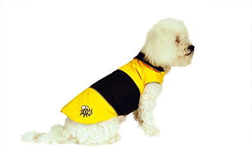 Rain Wrapper (Doggy Wrappers Bumblebee Hydro-Tech Dog Raincoat, 24, Yellow)