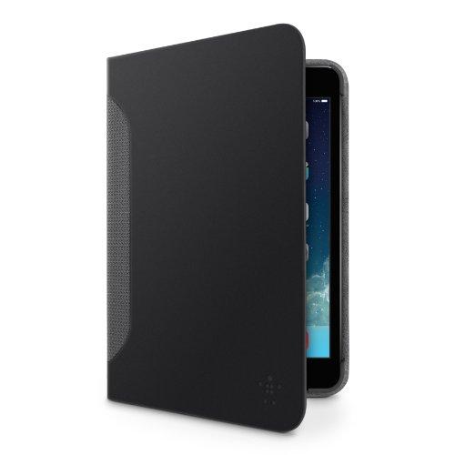 Belkin Hands Free Leather Case - Belkin Hands Free Leather Folio Case With Auto Wake Magnets For iPad Mini / iPad Mini 2 With Retina Display / iPad Mini 3