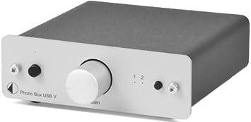 Pro-ject - Preamplificador MM/MC (puerto USB), color plateado ...