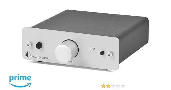 Pro-ject - Preamplificador MM/MC (puerto USB), color plateado