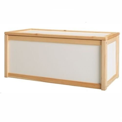 Your's Choice NEW WOODEN TOY BOX STORAGE UNIT CHILDRENS KIDS CHEST BOXES BENCH WHITE CHEAP chaand export