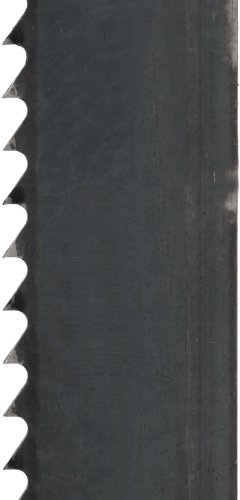 Starrett Duratec SFB Band Saw Blade, Carbon Steel, Regular Tooth, Raker Set, Neutral Rake, 96' Length, 1/2' Width, 0.025'...