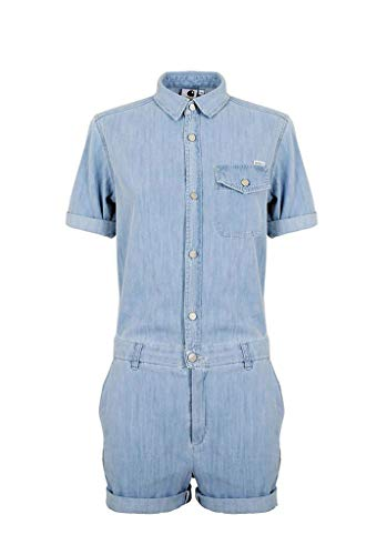 Blue Short Carhartt Prime Abito Donna Jill W Bleached Ss wCYXw