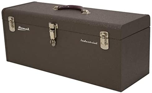 Amazon.com: Homak 32-Inch Industrial Steel Toolbox, Brown Wrinkle ...