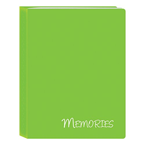 Pioneer Photo Albums I-46M/GN 36 Pockets Hold Memories Mini Photo Album, Green, 4 x 6