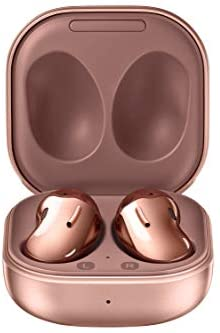 Samsung Galaxy Buds Live, True Wireless Earbuds w/Active Noise Cancelling (Wireless Charging Case Included), Mystic Bronze (US Version)