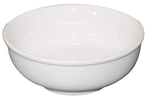 Cameo Ceramic Pho Noodle Soup Bowl, 7.25 Inch, 38 Ounce, Single Bowl by MBW NW Brands