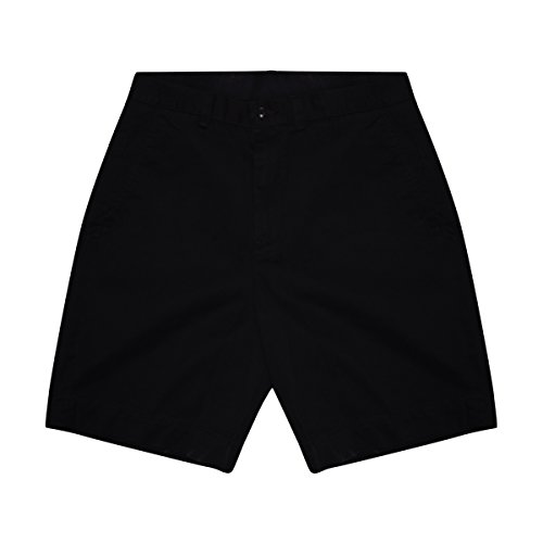 (Polo Ralph Lauren Mens Chino Flat Front Shorts (31, Black))