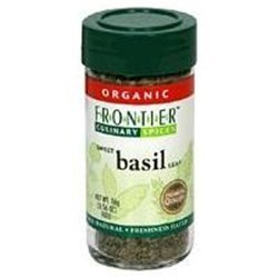 Frontier Basil Leaf Sweet-Domestic C S Certified Organic Bag # (Pack of 9) by Frontier