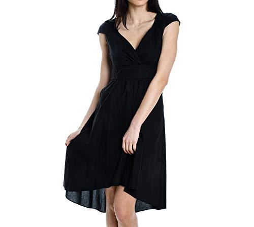 Noir Amely0md612 Coton Manila Grace Femme Robe tqxxEOA