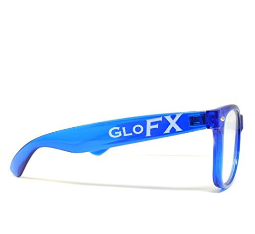 femmes Bleu Lunettes diffraction de pour GloFX I6BxSB