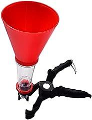 Ronyme Acessórios para conjunto de funil de mangueira de liberação de chave de filtro de óleo para Toyota para