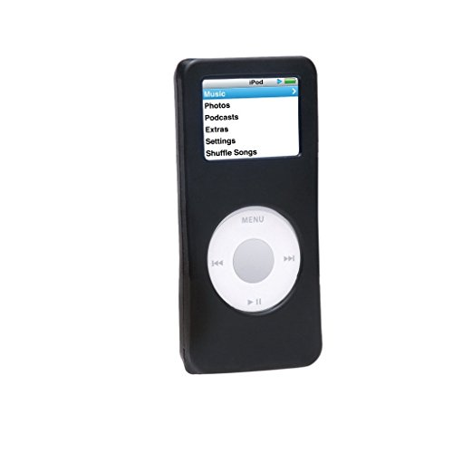 Silicone Case for iPod nano 1st/2nd Generation, BLACK, Replacement Part from Complete TuneBand Package, SILICONE CASE ONLY