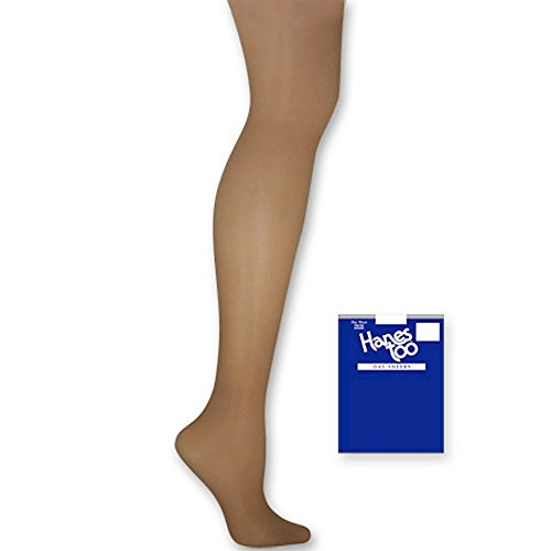 Hanes Silk Reflections Women's Too Day Sheer Sandalfoot Pantyhose, Barely There, (Day Sheer Pantyhose Hosiery)