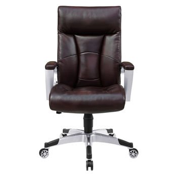 Superieur Amazon.com: Alain Office Brown Bonded Leather Chair With Sealy Posturepedic  Memory Foam: Cell Phones U0026 Accessories