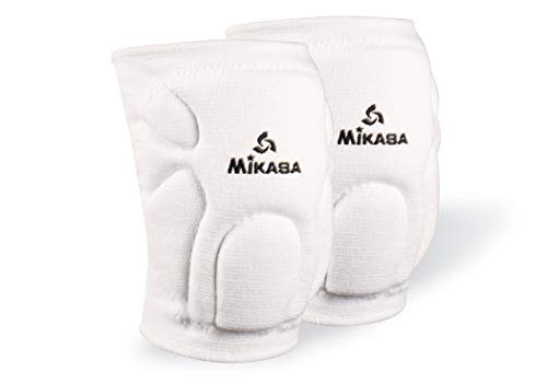 Mikasa 830JR Competition Antimicrobial Kneepad, White