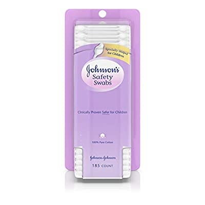 Johnson's Safety Ear Swabs