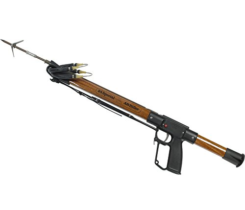 AB Biller Wood Mahogany Special Speargun Spearfishing Kit, 32 - Mahogany Speargun