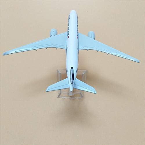 16 cm 1:400機シンガポール航空のエアバスA350航空機はダイキャスト製