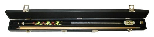 Soft Side Cue Case - Trademark Blazing Pool Stick With Flames Pool Stick