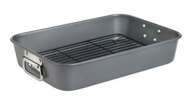 """Wearever Roaster With Rack Dw Safe 10"""" X 15"""" Non-Stick"""