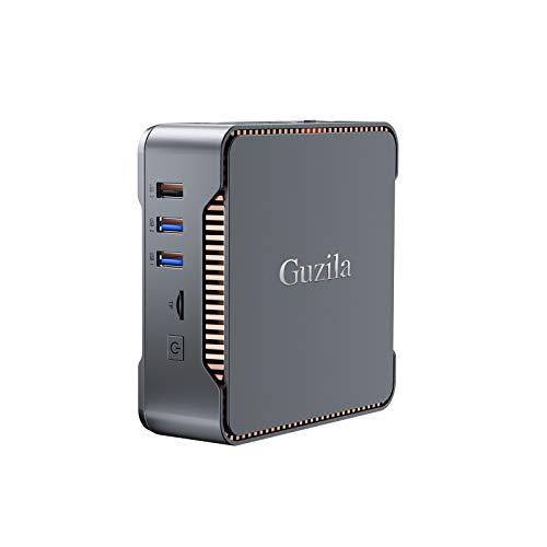 GUZILA Mini PC,Intel Celeron J4125 Processor(up to 2.7GHz) Windows 10 Pro Mini Desktop Computer with 8GB DDR4/120GB ROM…