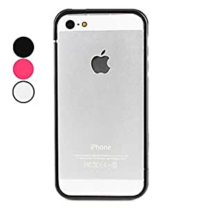 Assembly Design Bumper Case for iPhone 5/5S (Assorted Colors) --- COLOR:Black