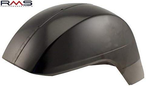 PARAFANGO//protezione Targa in metallo nero innescato per Vespa PX 200/tutti i modelli